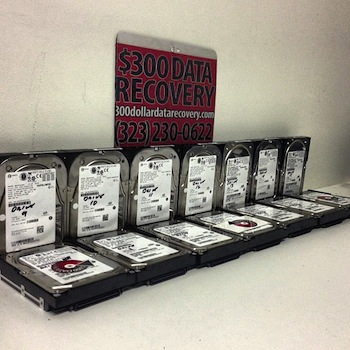 14 drive SCSI RAID-5 100% recovered in March 2013