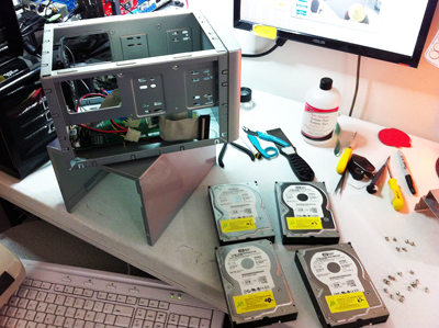 2-iomega storcenter data recovery disassembled