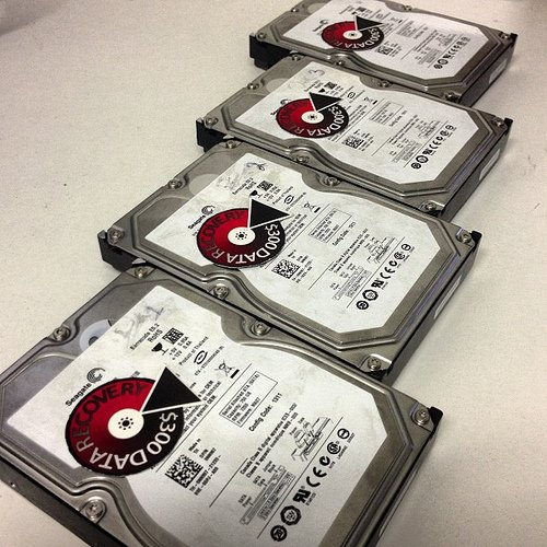 300 Dollar Data Recovery – RAID Recovery From 4 Drive RAID 0