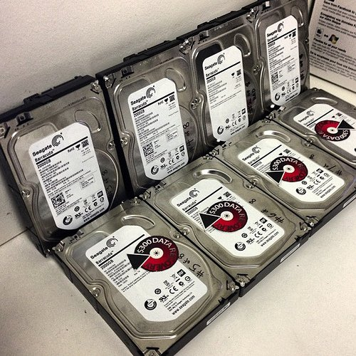 300 Dollar Data Recovery – RAID Recovery From 8 Drive RAID