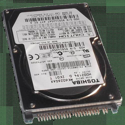 """ATA 2.5"""" hard drive"""