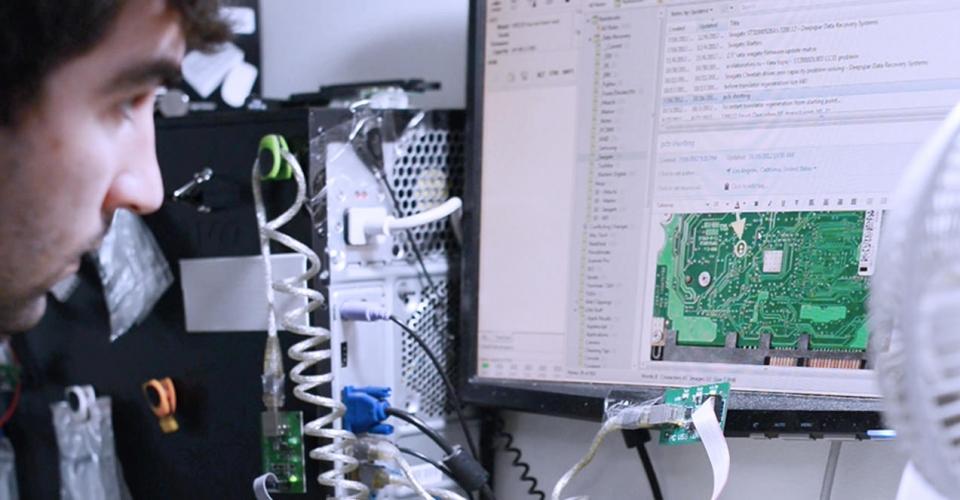 Hard drive PCB Repair