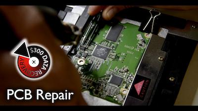 $300 Data Recovery - PCB repair
