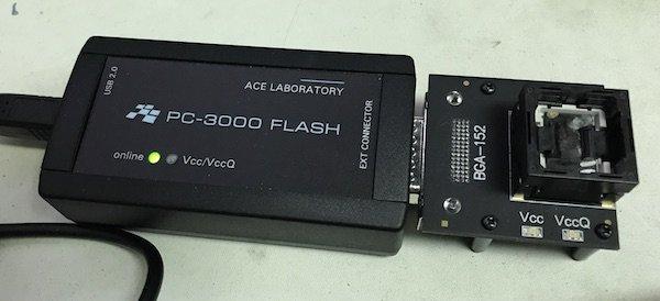 PC3000 Flash - reading chip