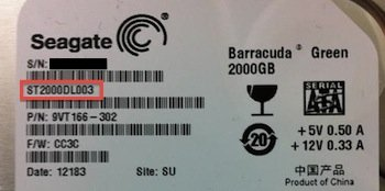 Seagate Model Number - find your hard drive model number