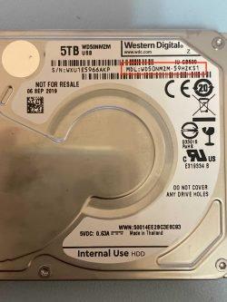 western digital hard drive model number